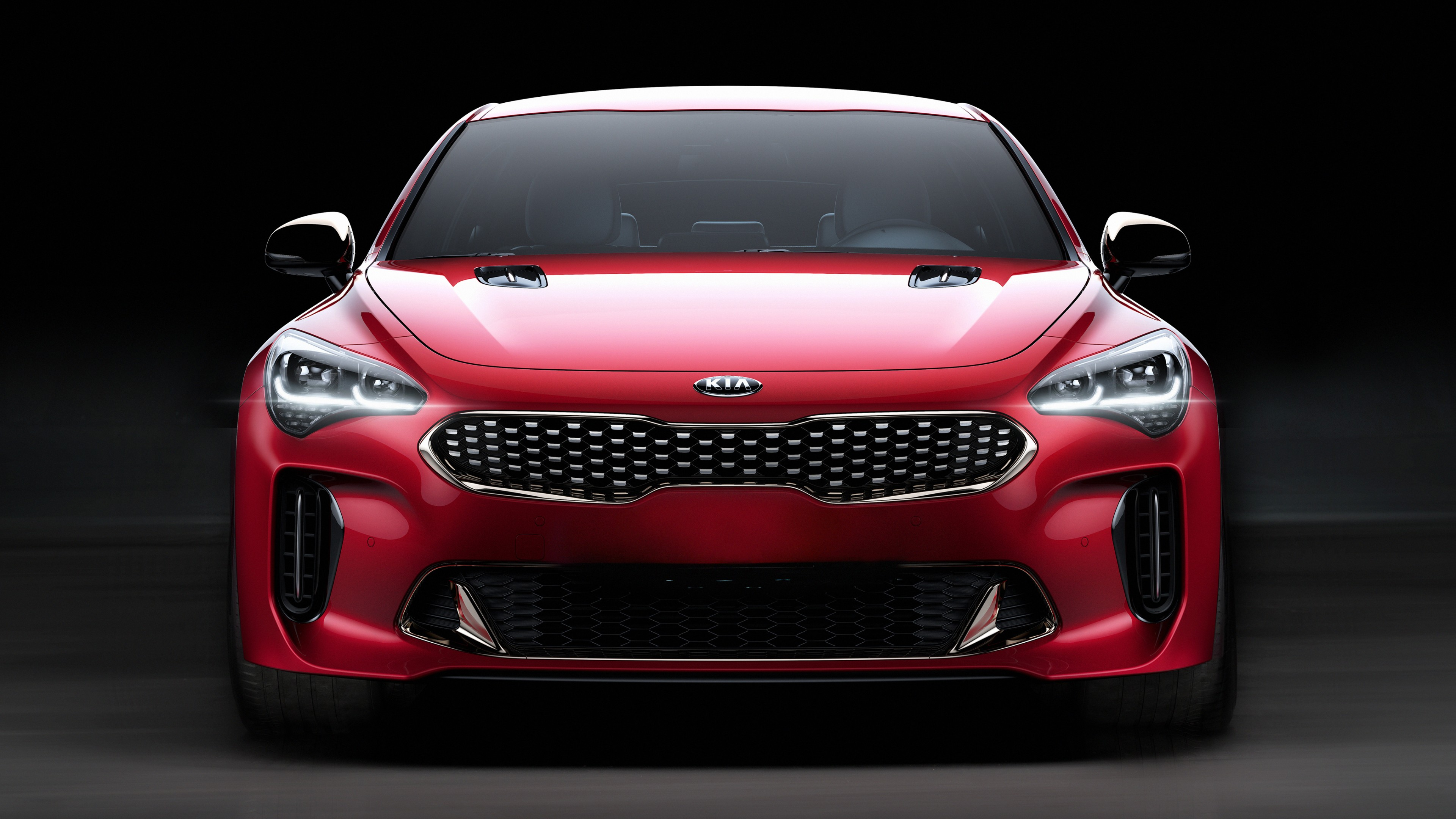 kia stinger gt 2018 4k wallpaper hd car wallpapers id 7912. Black Bedroom Furniture Sets. Home Design Ideas