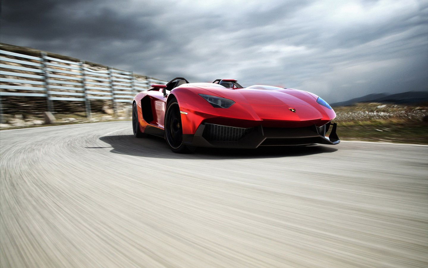 Lamborghini Aventador J 2012 2 Wallpaper | HD Car Wallpapers