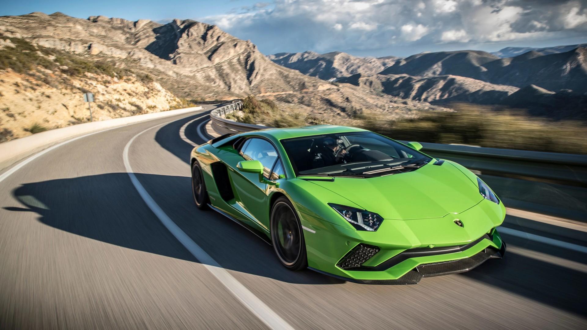 4k Lamborghini Aventador Lamborghini Sports Car Wallpaper: Lamborghini Aventador S 2017 4K Wallpaper