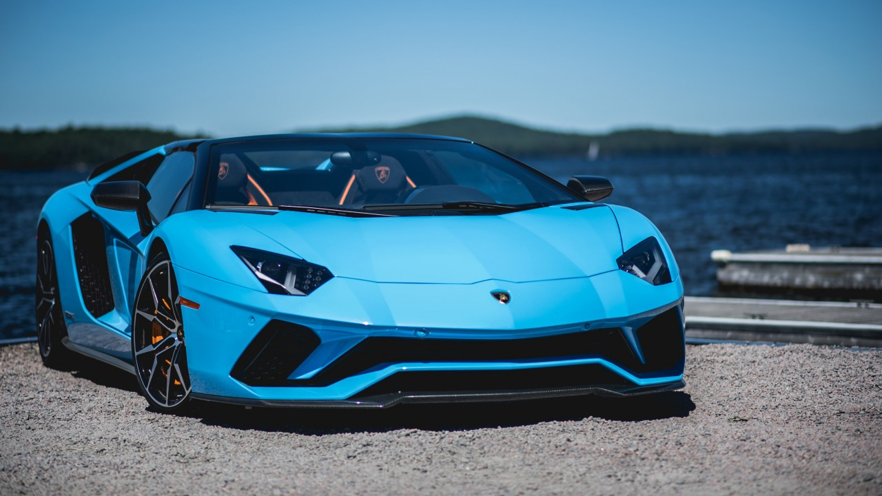 Lamborghini Aventador S Roadster Wallpaper Hd Car