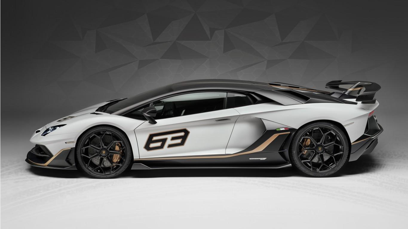Lamborghini Aventador Roadster >> Lamborghini Aventador SVJ 63 2019 4K 3 Wallpaper | HD Car ...