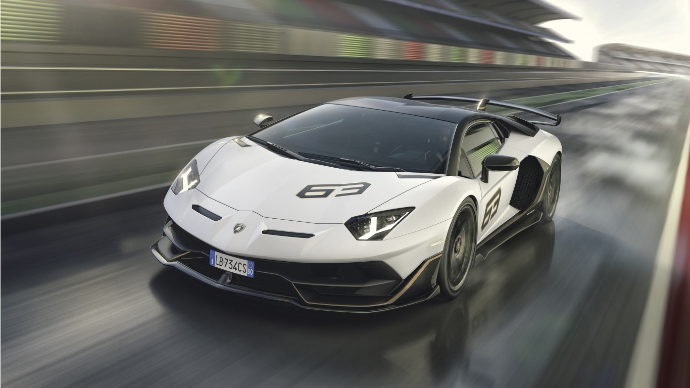Lamborghini Aventador Svj 63 2019 4k 4 Wallpaper Hd Car