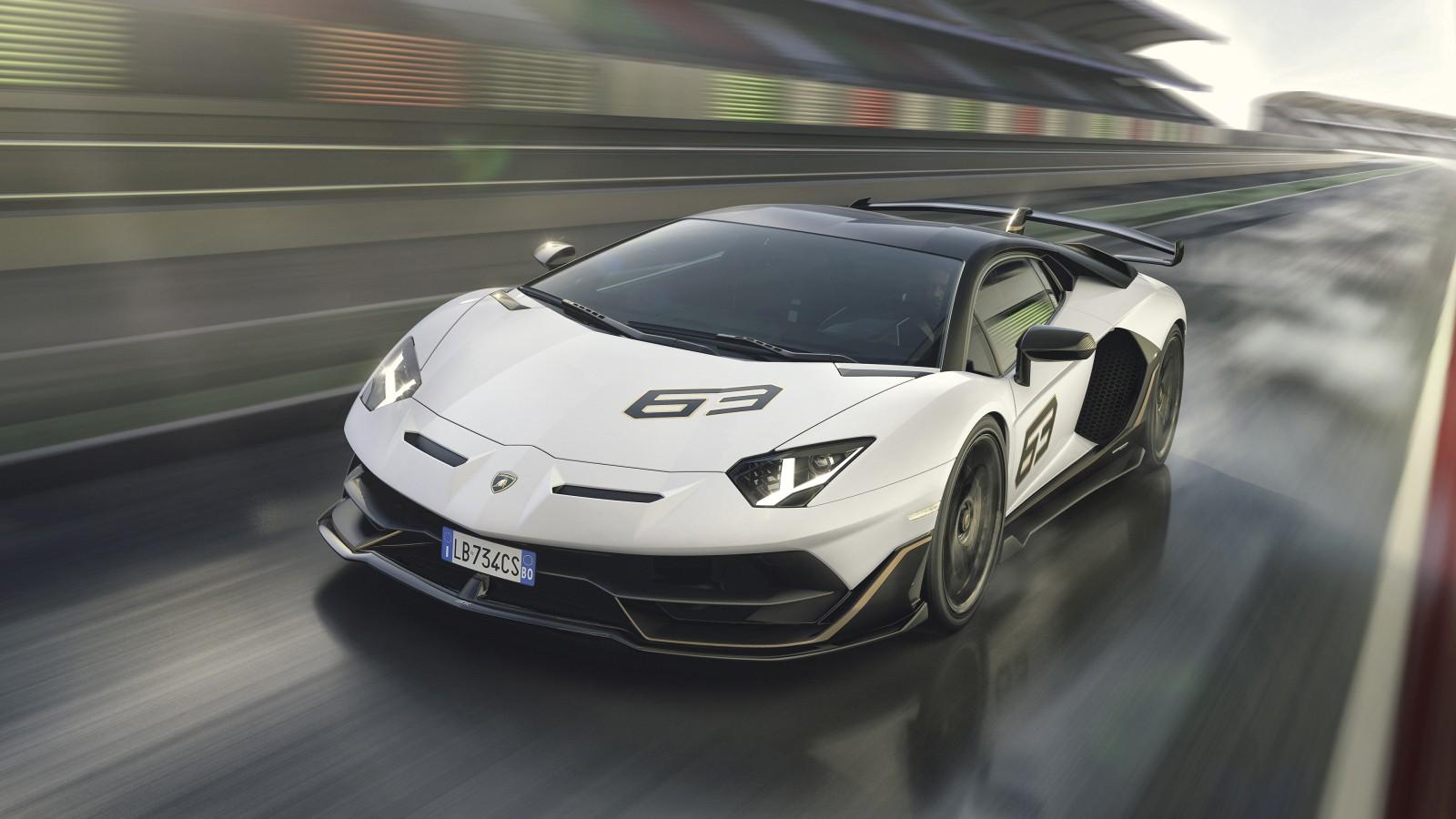 Lamborghini Aventador Svj 63 2019 4k 4 Wallpaper Hd Car Wallpapers Id 11011