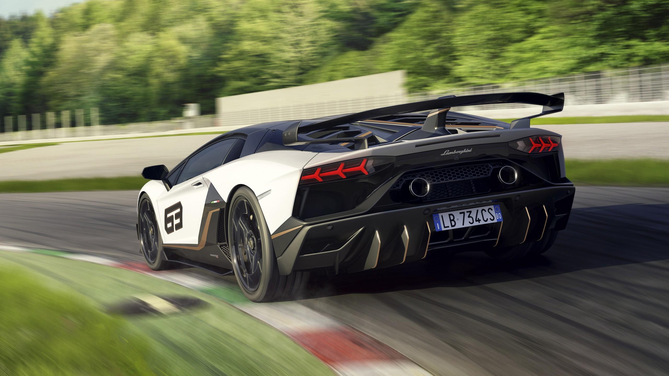 Lamborghini Aventador Svj 63 2019 4k 8 Wallpaper Hd Car
