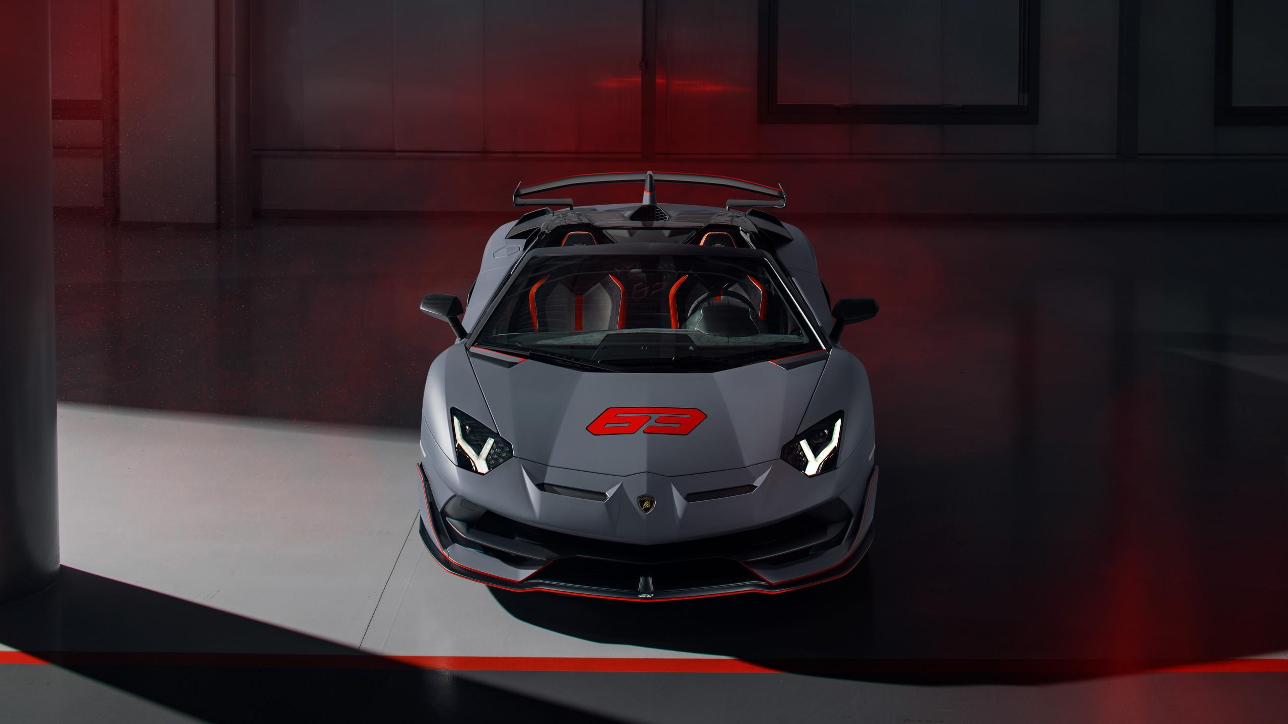 Lamborghini Aventador SVJ 63 Roadster 2020 4K Wallpaper ...