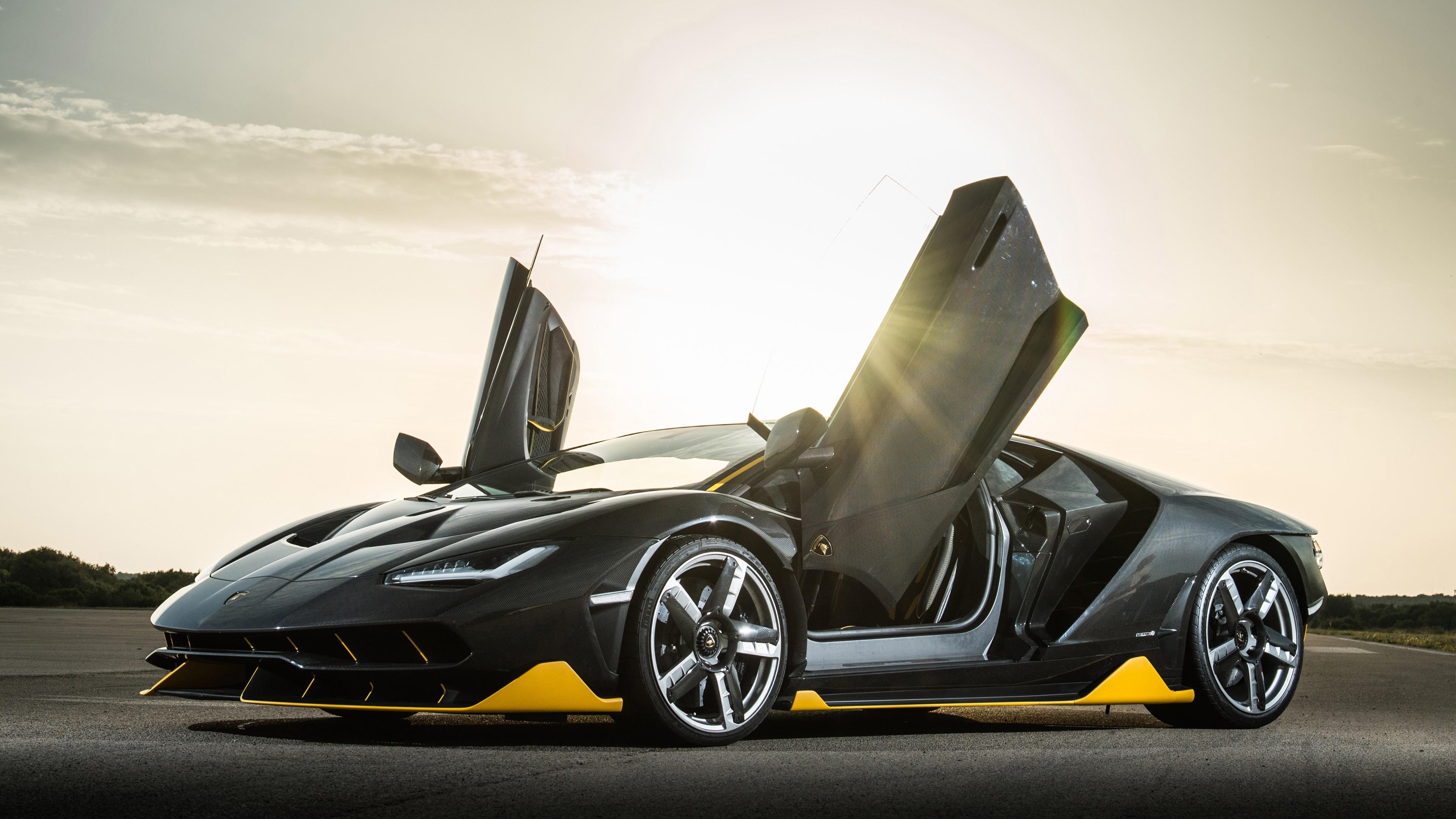 Lamborghini Centenario 4K Wallpaper