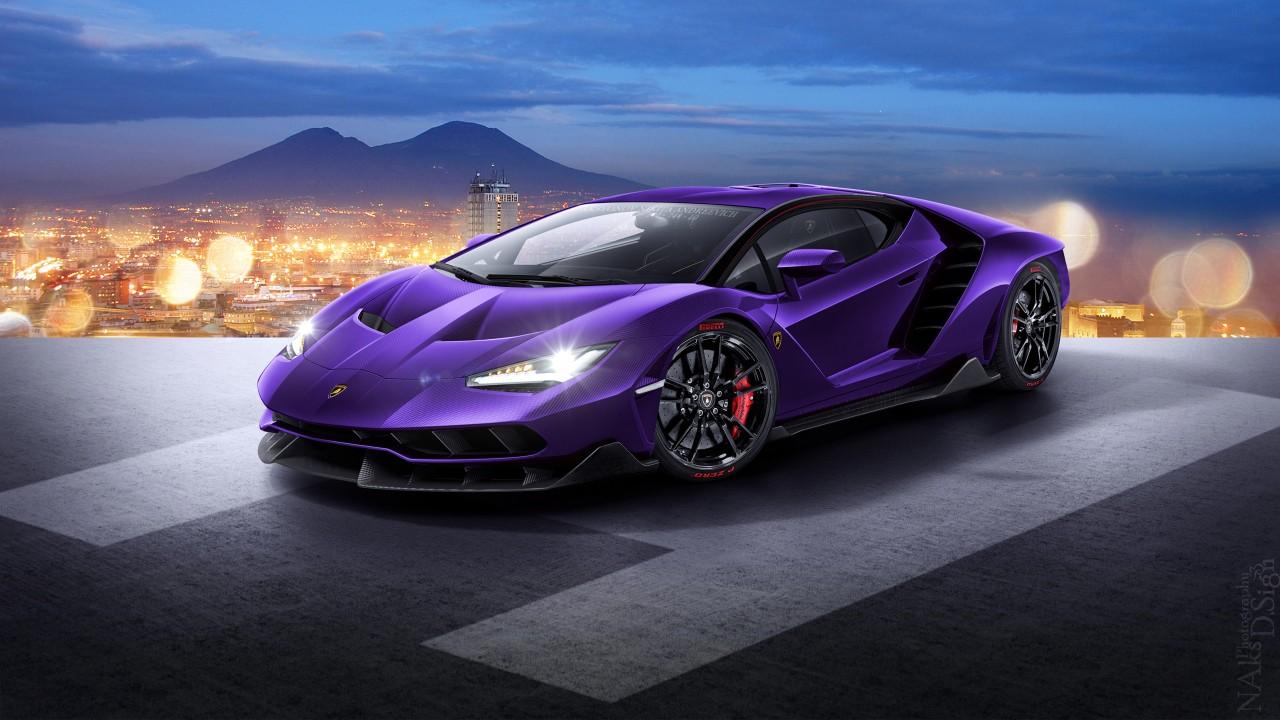 2017 Lamborghini Centenario 4k Wallpaper: Lamborghini Centenario LP770 4 Wallpaper