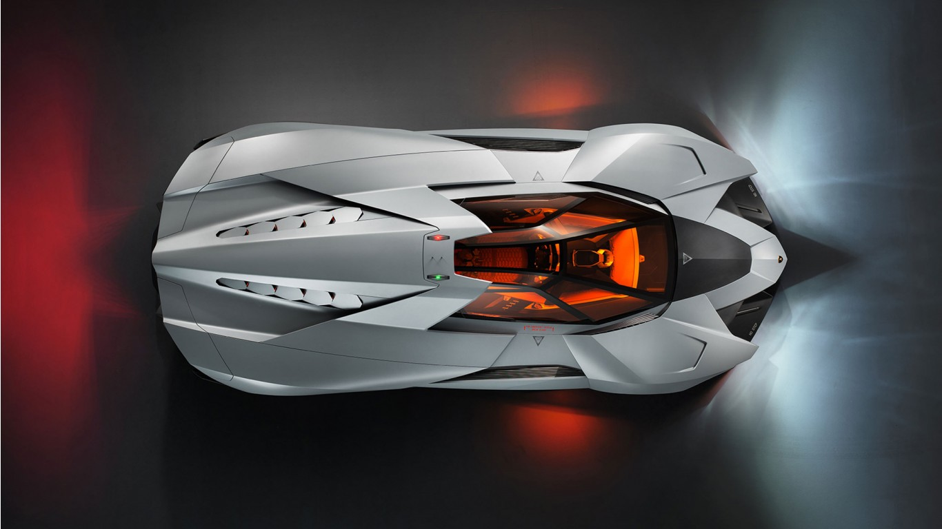 Lamborghini Egoista Concept 5 Wallpaper | HD Car ...