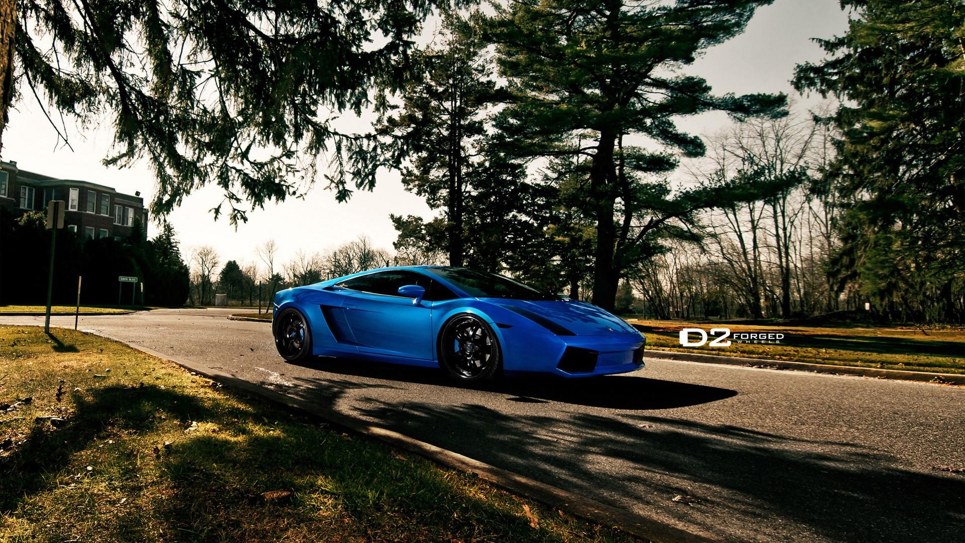 Audi Vs BMW >> Lamborghini Gallardo D2Forged VS6 Wheels 5 Wallpaper | HD ...