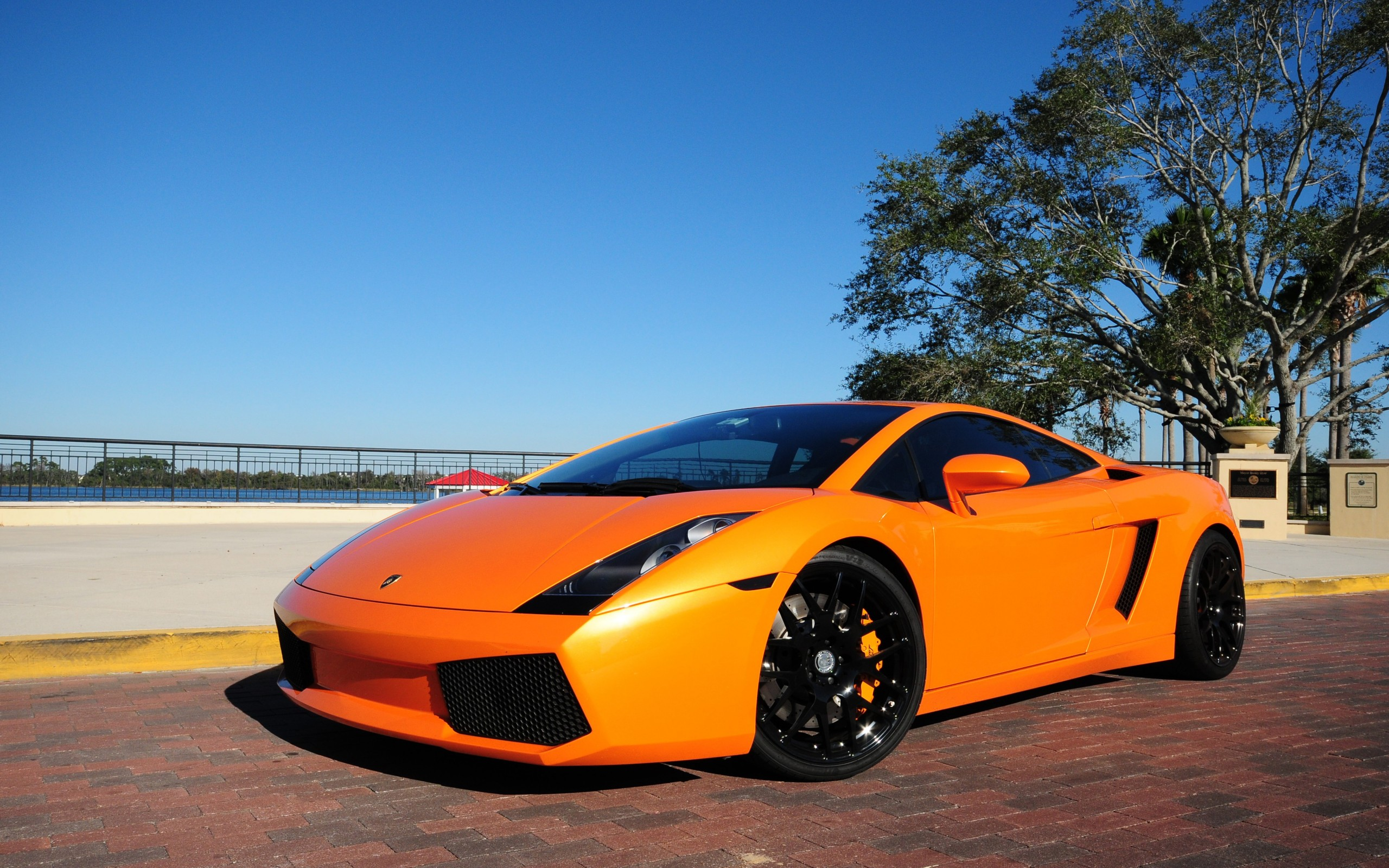 Lamborghini Gallardo Orange Wallpaper
