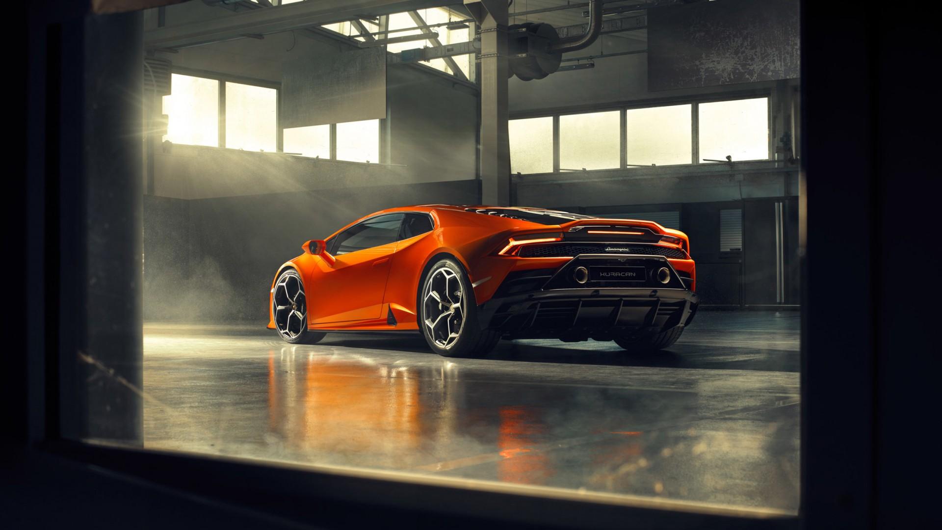 Lamborghini Huracan EVO 2019 4K 2 Wallpaper | HD Car