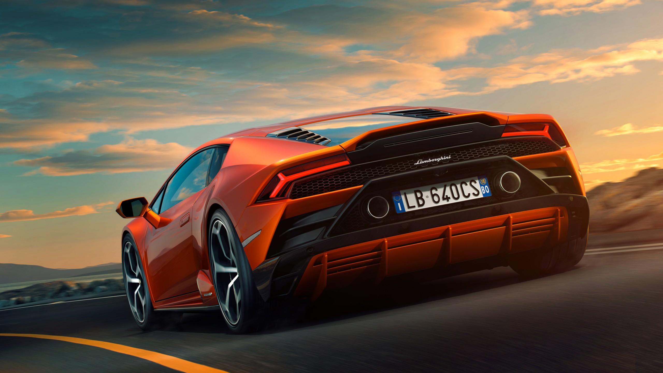 Lamborghini Huracan EVO 2019 4K 5 Wallpaper | HD Car ...