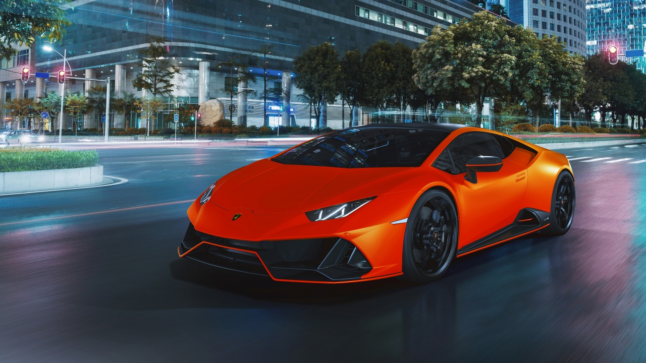 Lamborghini Huracán EVO Fluo Capsule 2021 4K 4 Wallpaper ...