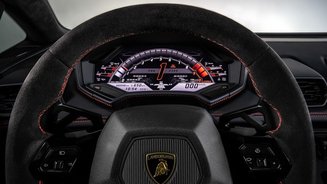 Lamborghini Huracan EVO Interior 2019 5K Wallpaper | HD ...