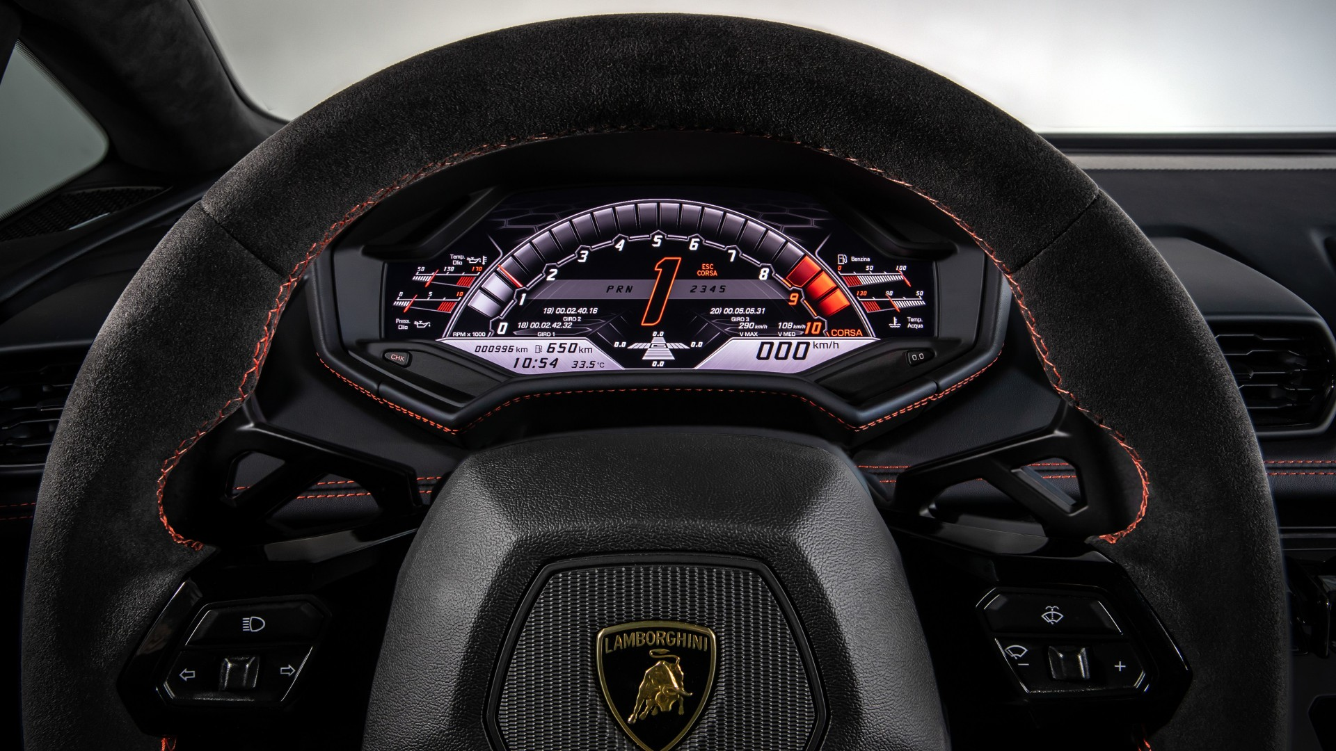 Lamborghini Huracan EVO Interior 2019 5K Wallpaper | HD ...