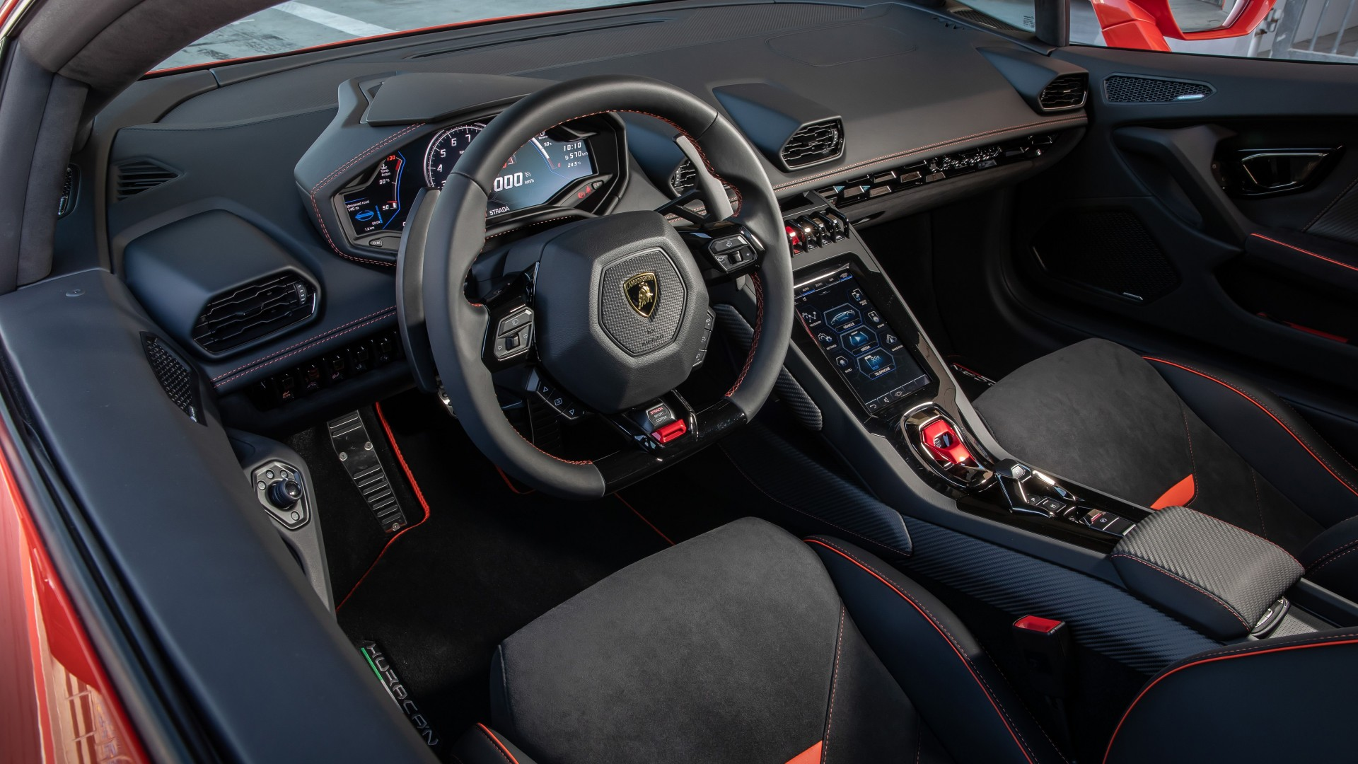 Lamborghini Huracan EVO Interior 5K 2019 Wallpaper | HD Car Wallpapers | ID #11954