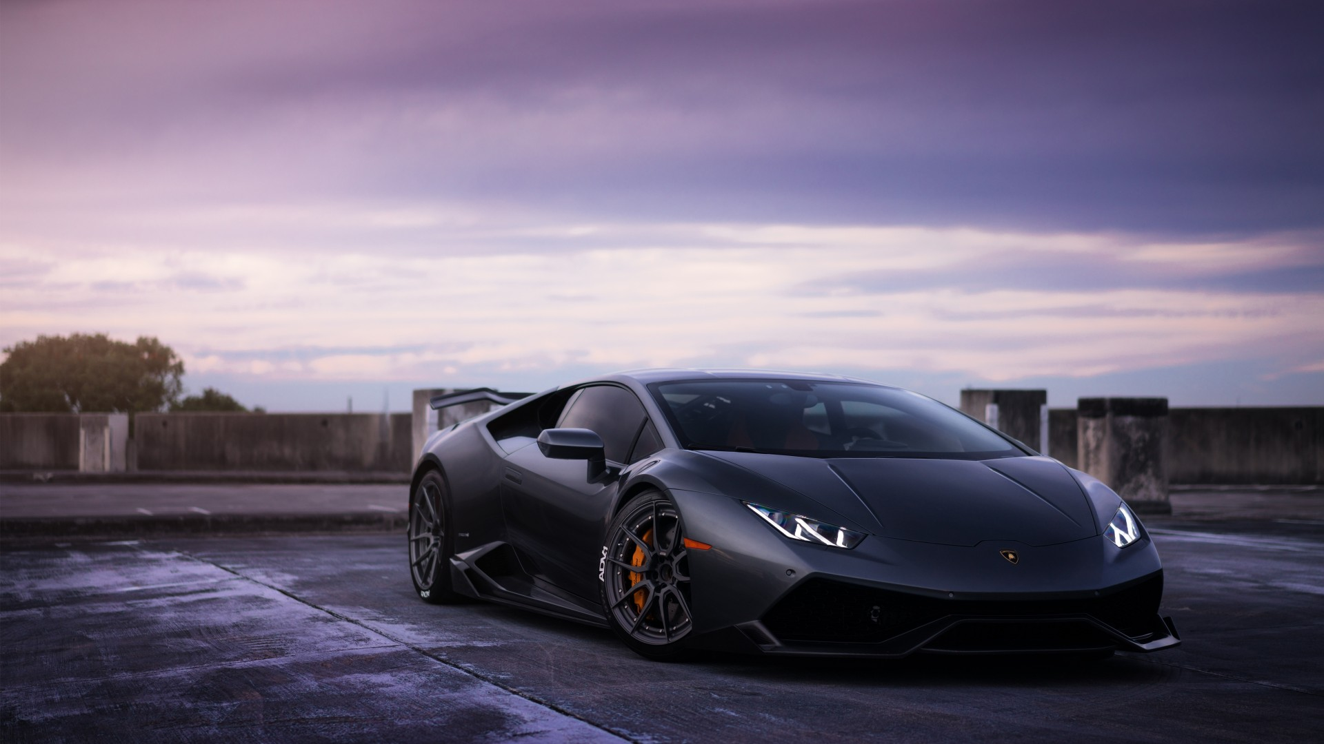 Lamborghini Huracan On ADV1 Wheels 3 Wallpaper