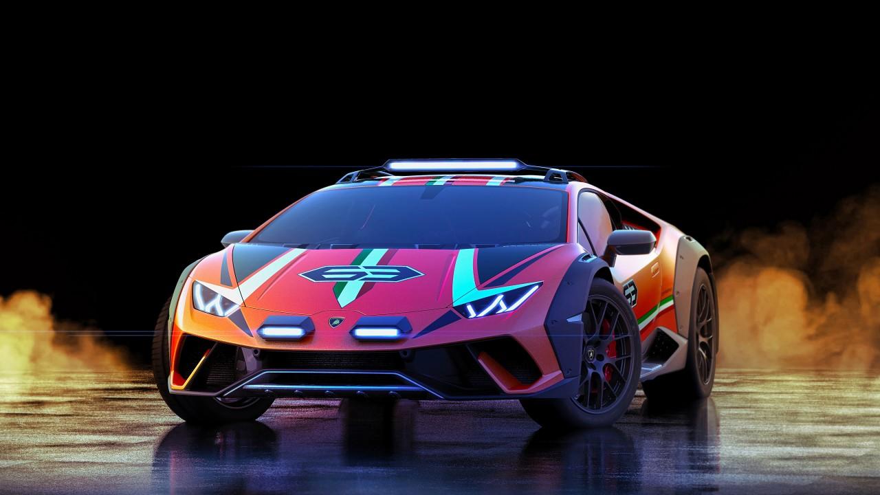 Lamborghini Huracan Sterrato Concept 2019 5K Wallpaper ...