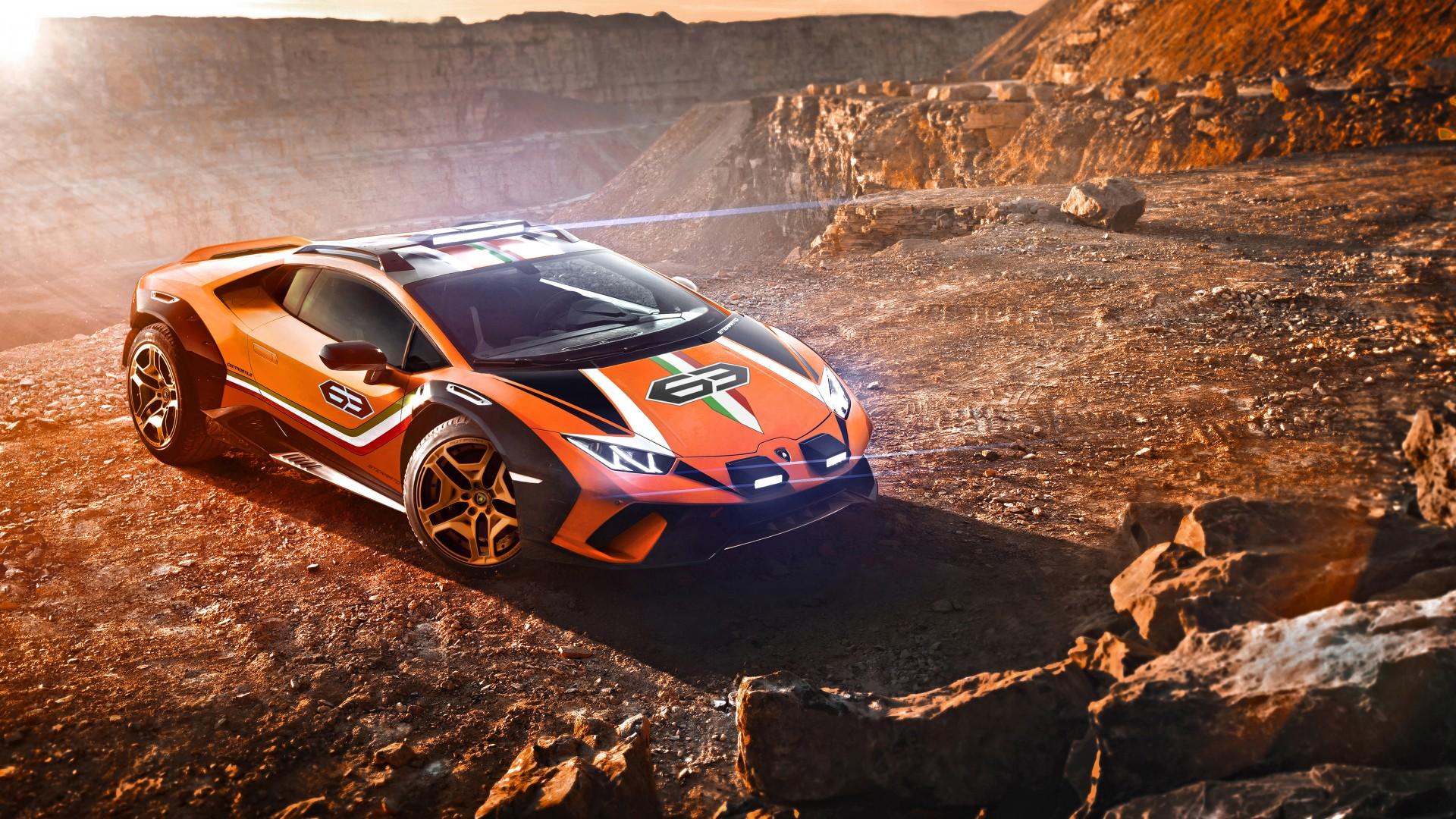 4x4 Off Road >> Lamborghini Huracan Sterrato Concept 2019 5K 2 Wallpaper ...