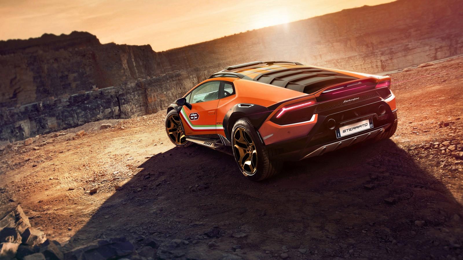 Lamborghini Huracan Sterrato Concept 2019 5K 3 Wallpaper ...