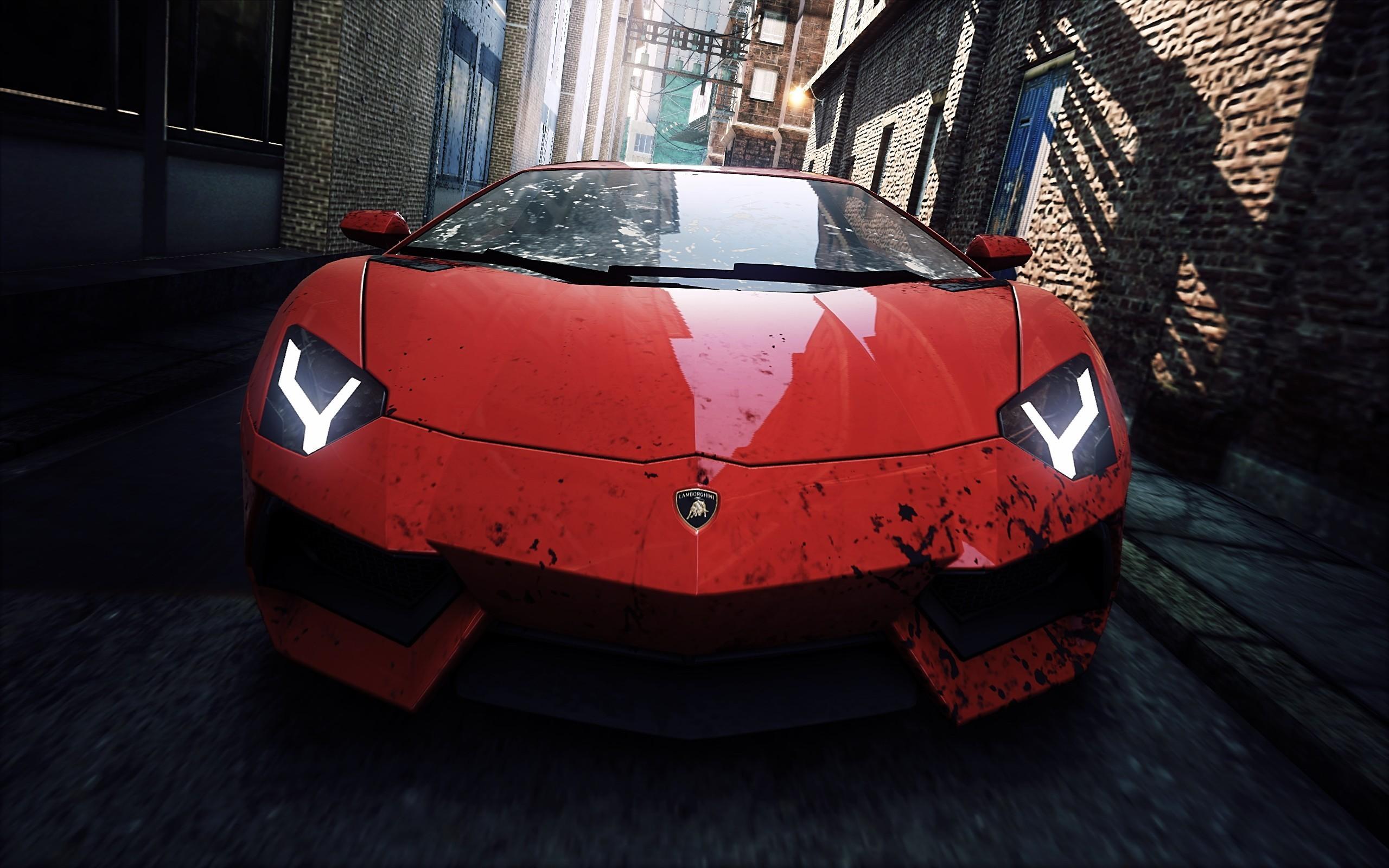 Lamborghini In Nfs Most Wanted 2012 Wallpaper Hd Car Wallpapers