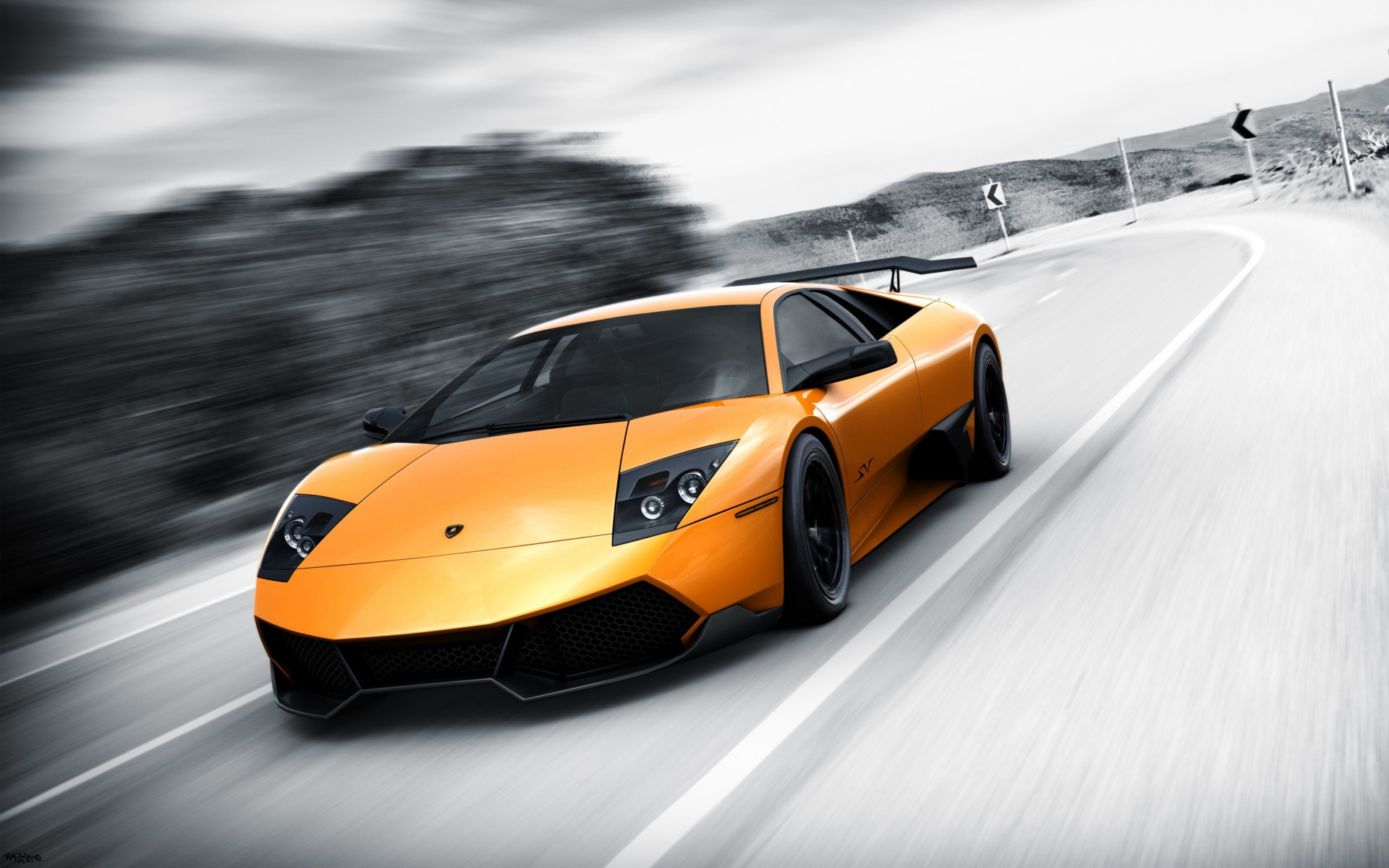 Lamborghini Murcielago Lp670 4 Sv Wallpaper Hd Car Wallpapers Id 2837