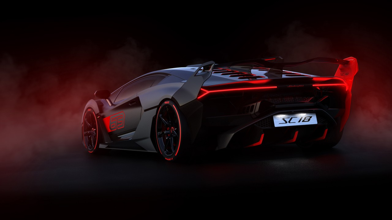 Lamborghini SC18 2019 4K 2 Wallpaper