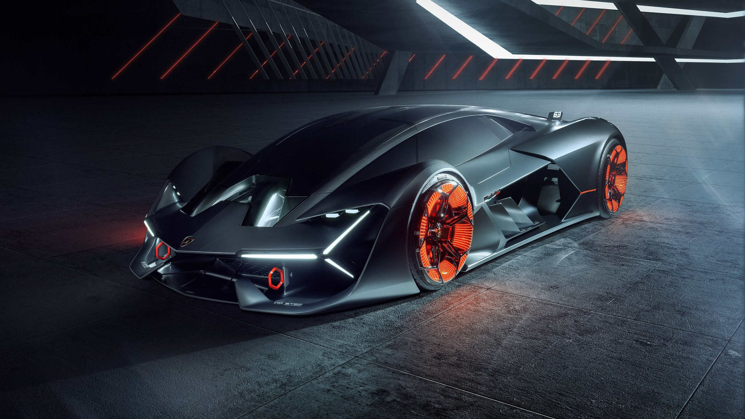Hd Car Wallpapers For Mobile 28 Wallpapers: Lamborghini Terzo Millennio 2019 4 Wallpaper