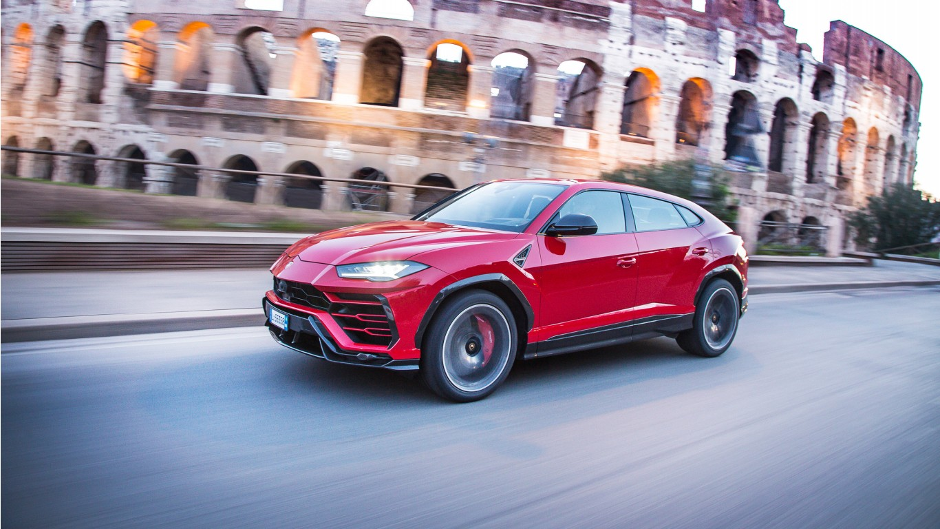 Lamborghini Urus 2018 Wallpaper | HD Car Wallpapers | ID ...