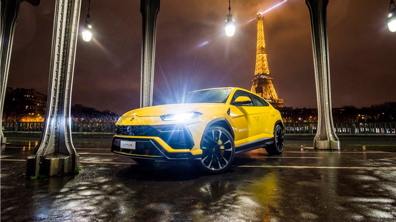 Lamborghini Urus 2018 4K 2 Wallpaper   HD Car Wallpapers ...