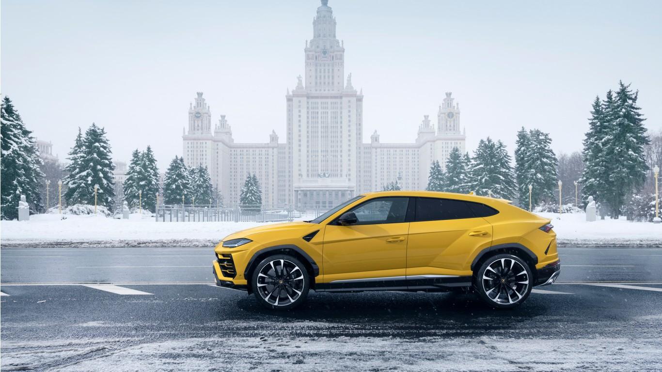 Lamborghini Urus 2018 4K 6 Wallpaper | HD Car Wallpapers ...