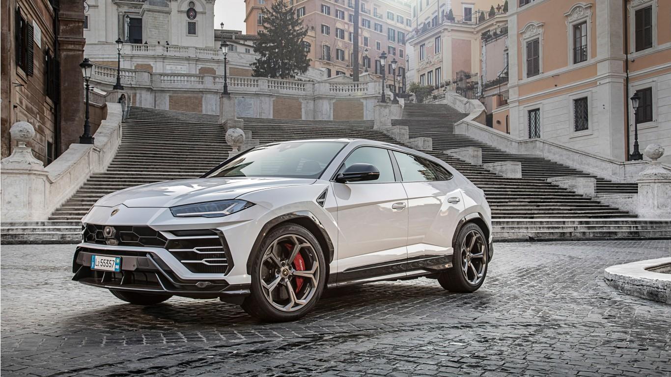 Lamborghini Urus 2018 4K 7 Wallpaper HD Car Wallpapers