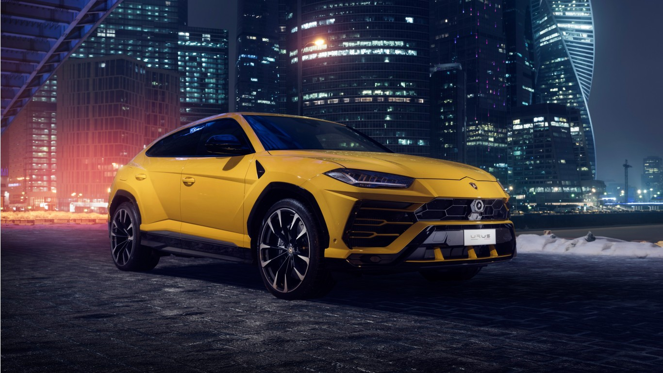 Lamborghini Urus 2018 4k 8 Wallpaper Hd Car Wallpapers Id 10174