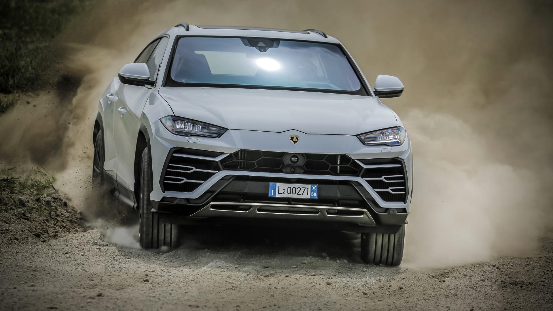 Lamborghini Urus Off-Road Package 2018 4K Wallpaper