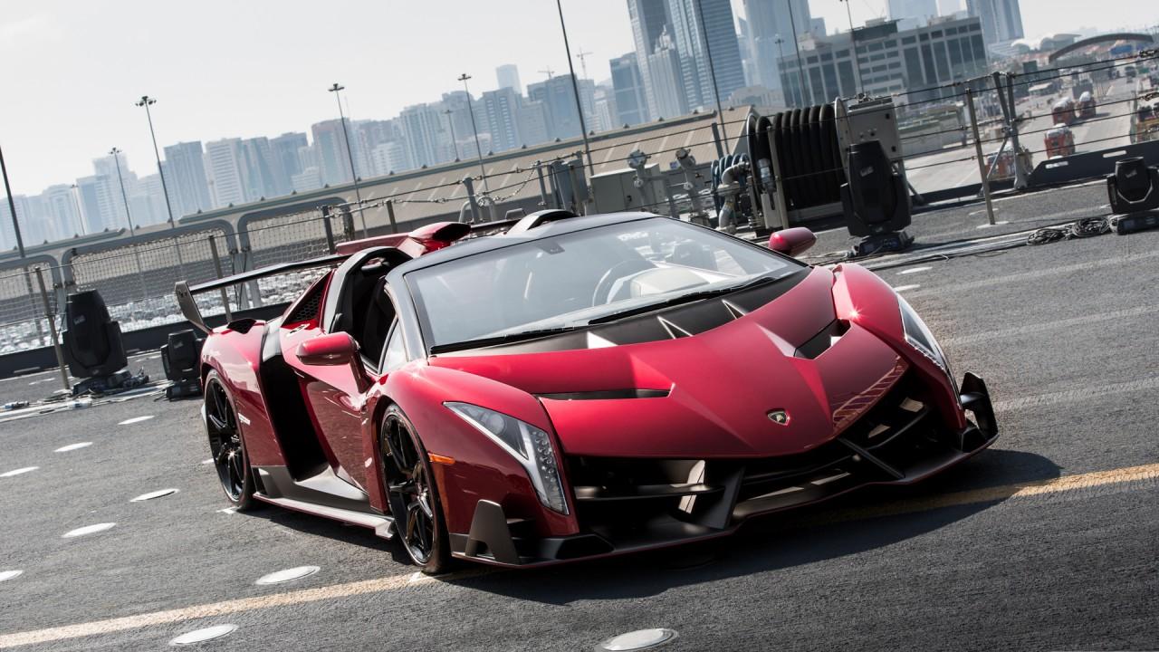 Lamborghini Veneno Roadster Wallpaper | HD Car Wallpapers ...