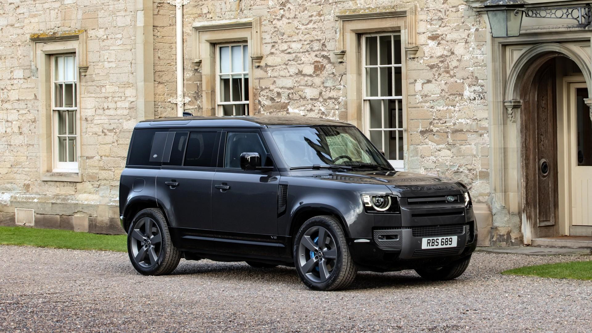 Land Rover Defender 110 V8 Carpathian Edition 2021 4K ...