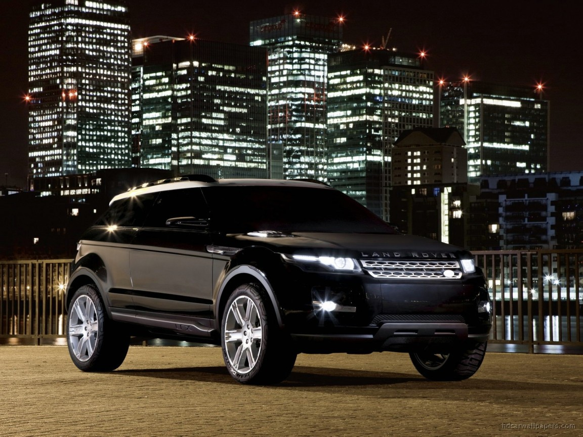 Land Rover Evoque >> Land Rover LRX Concept Black Wallpaper | HD Car Wallpapers ...