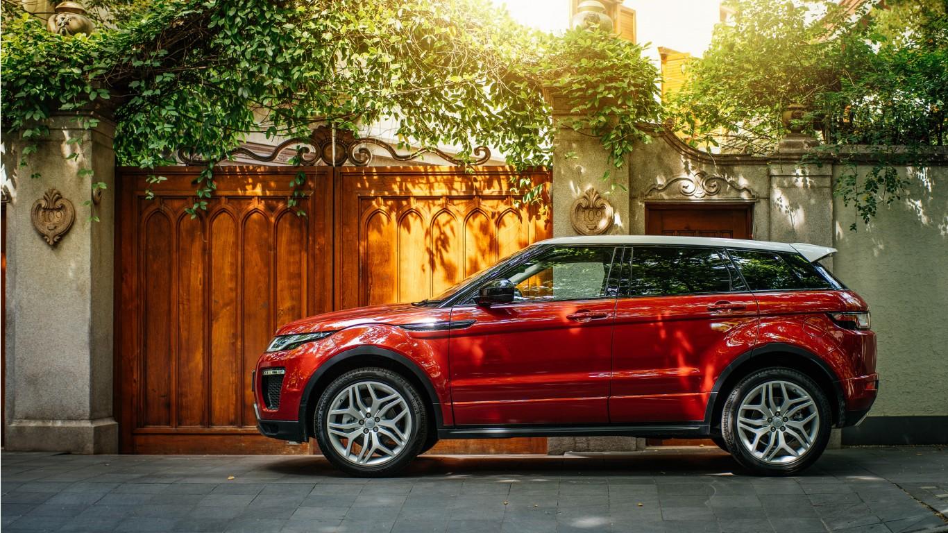 Land Rover Range Rover Evoque K X on Land Rover Lrx Concept Interior