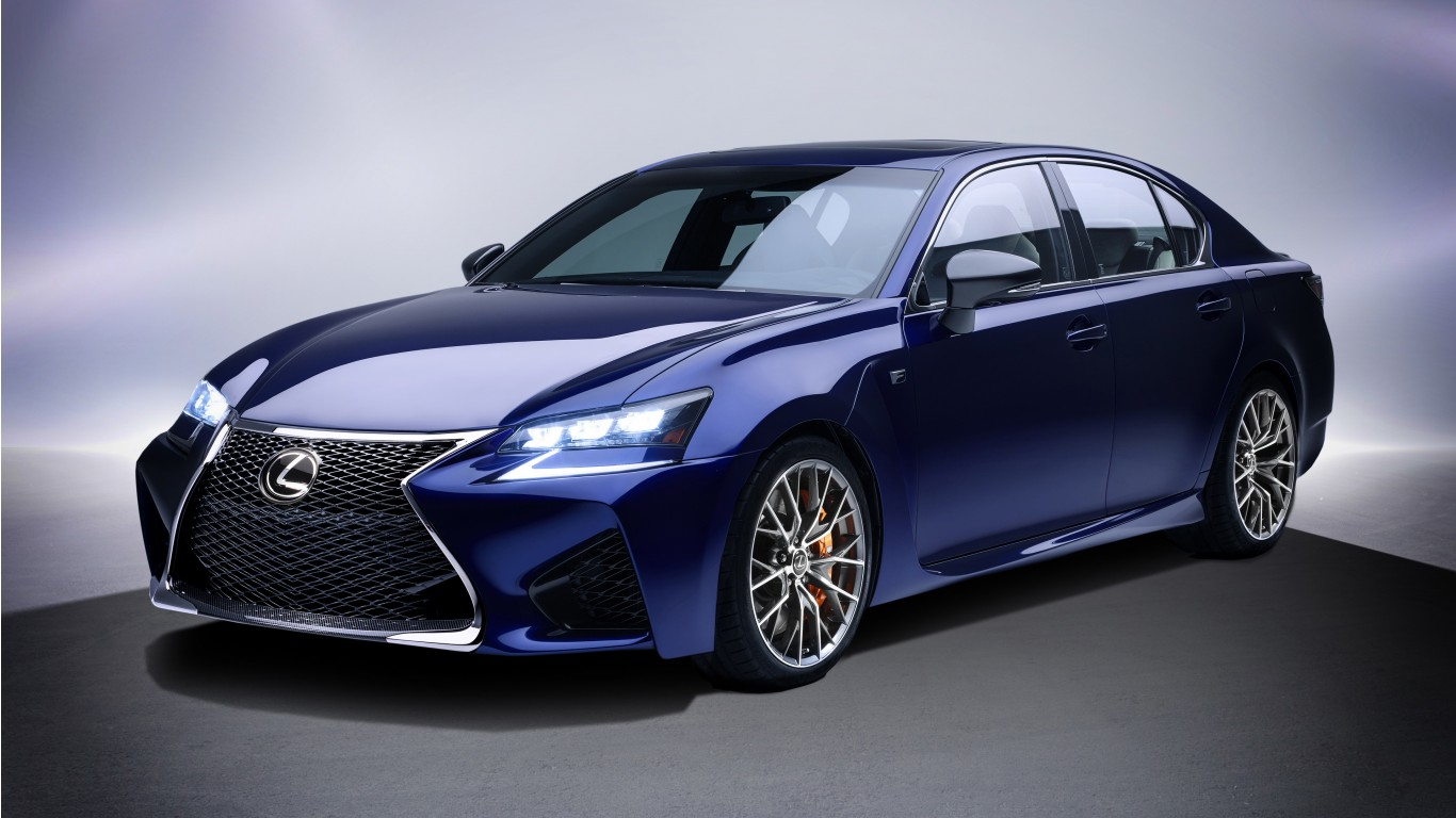 Lexus Gs F Luxury Sedan 2017 Wallpaper Hd Car Wallpapers