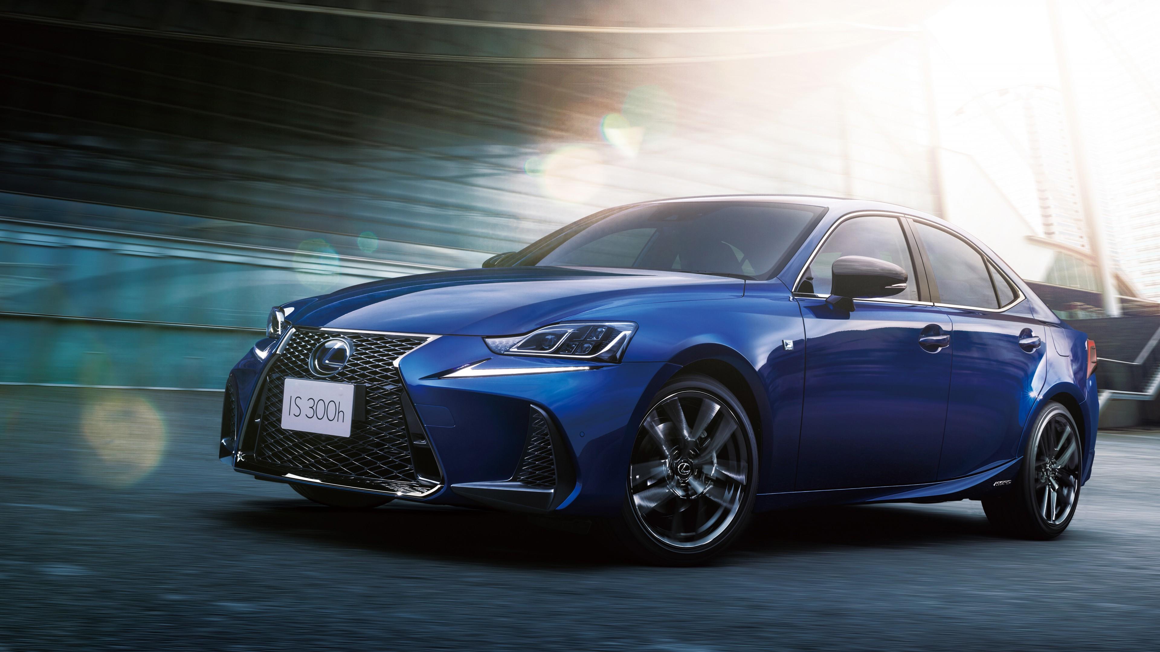 Lexus Is 300h F Sport I Blue 2019 4k Wallpaper Hd Car Wallpapers Id 13389