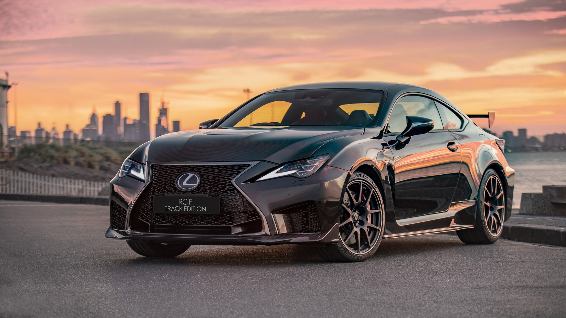 Lexus Rc F Track Edition 2019 Wallpaper Hd Car