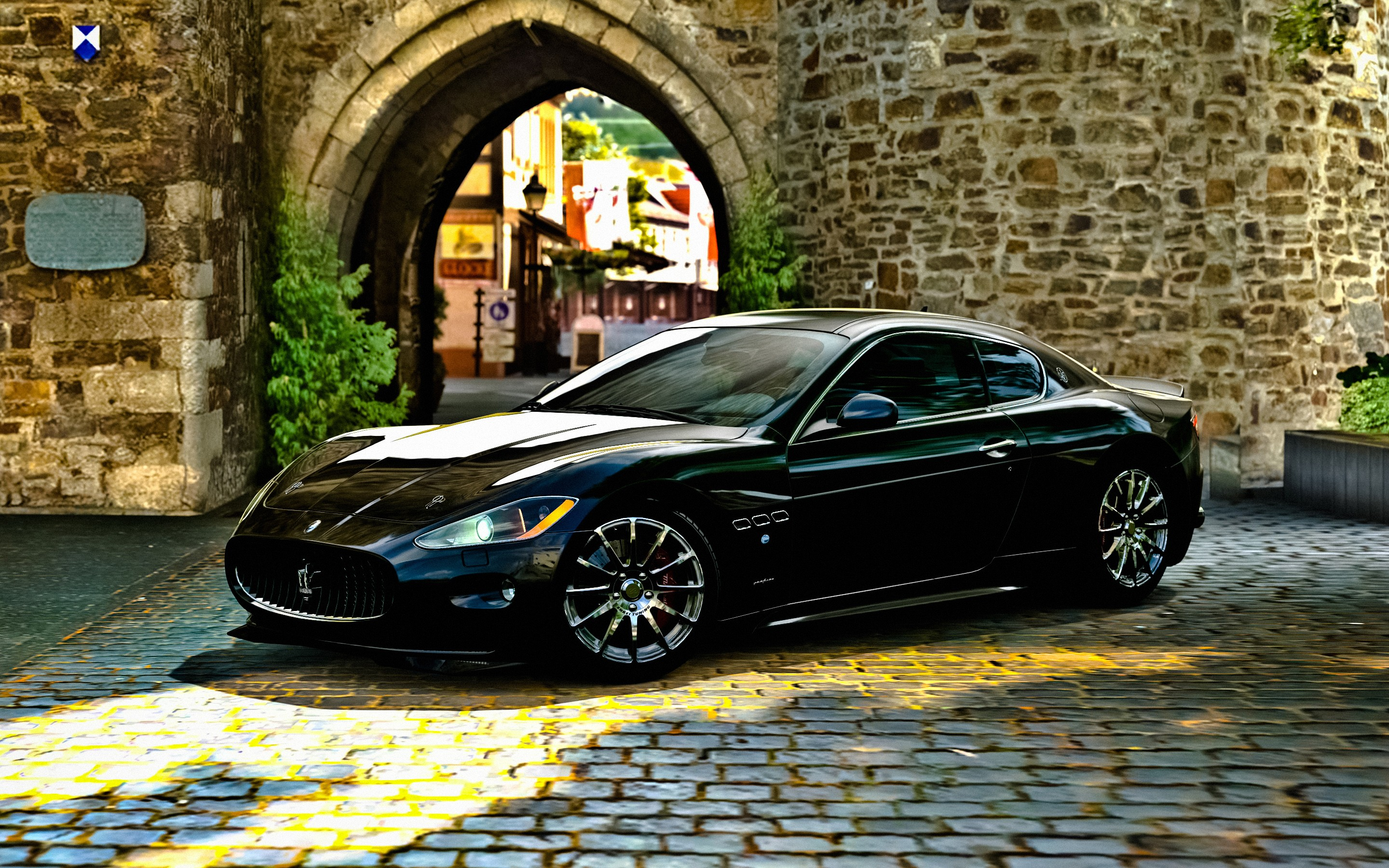 maserati granturismo wallpaper hd car wallpapers id 3941. Black Bedroom Furniture Sets. Home Design Ideas