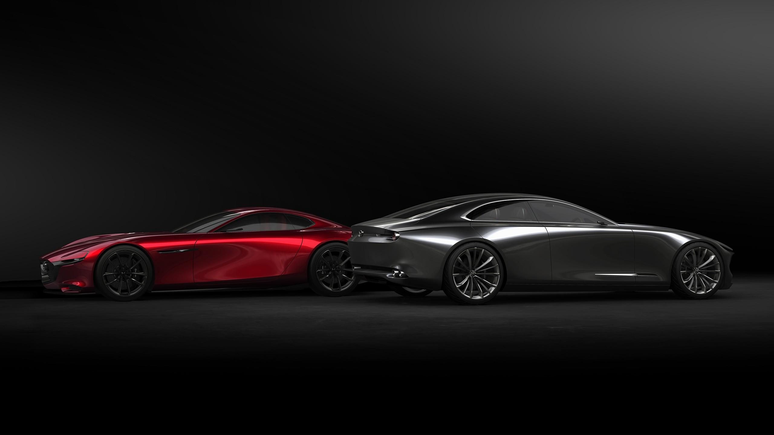 Mazda RX Vision Mazda Vision Coupe Concept Cars Wallpaper | HD Car Wallpapers | ID #8897