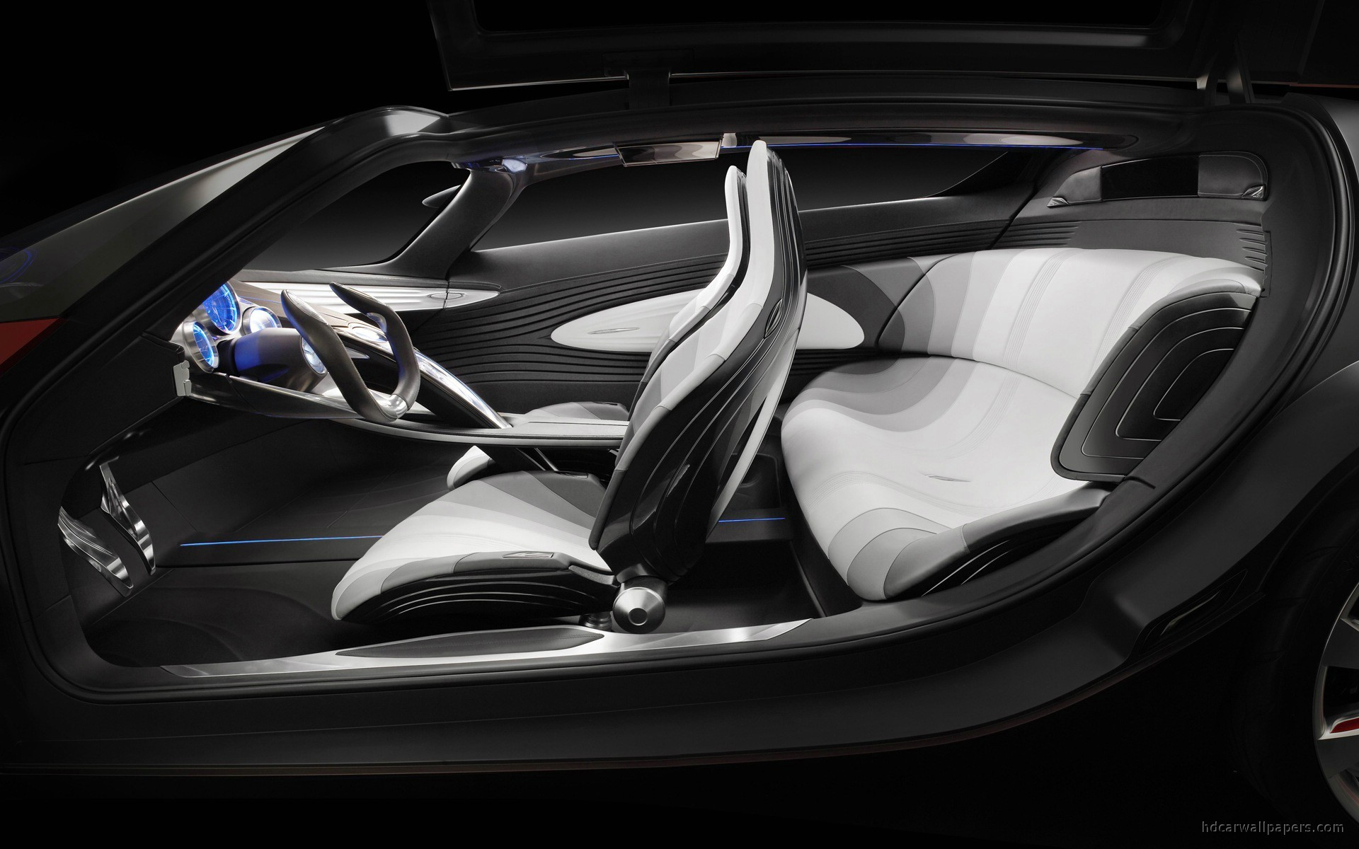mazda ryuga concept interior wallpaper hd car wallpapers id 1159. Black Bedroom Furniture Sets. Home Design Ideas