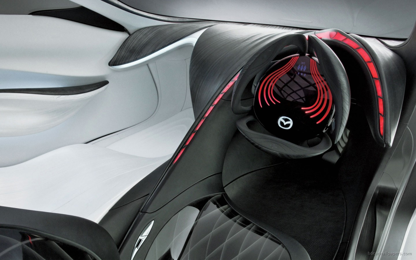 Mazda Taiki Concept Interior Wallpaper Hd Car Wallpapers