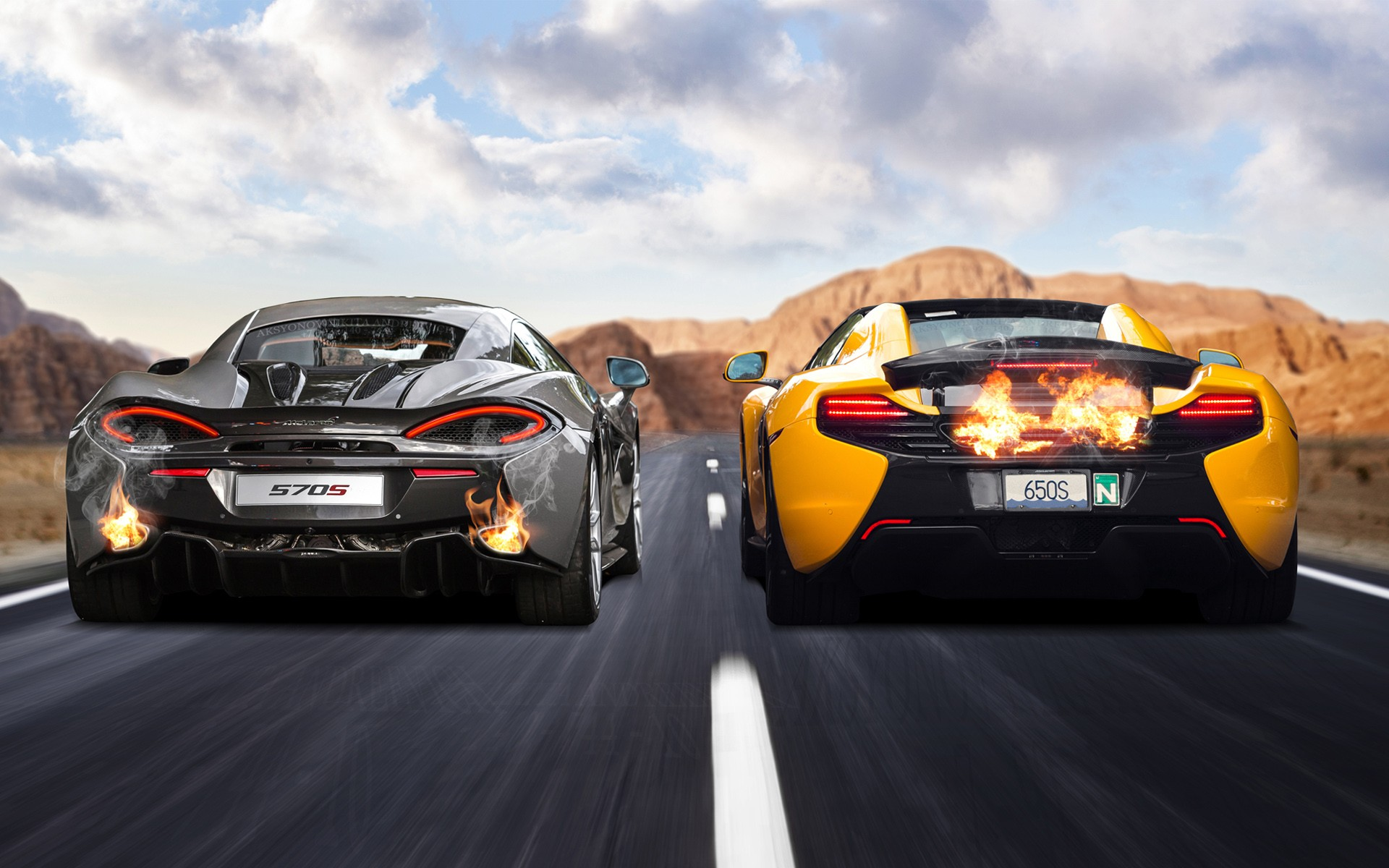 Wallpapers Hd: McLaren 570S & 650S Wallpaper