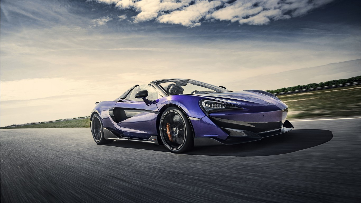 McLaren 600LT Spider Lantana Purple 2019 5K Wallpaper | HD ...