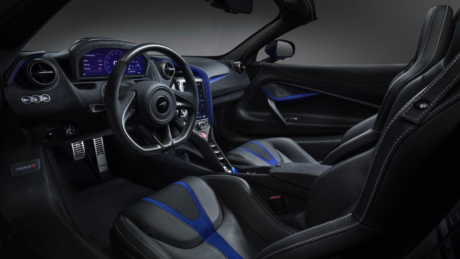 McLaren 720S Spider by MSO Geneva 2019 Interior 5K ...