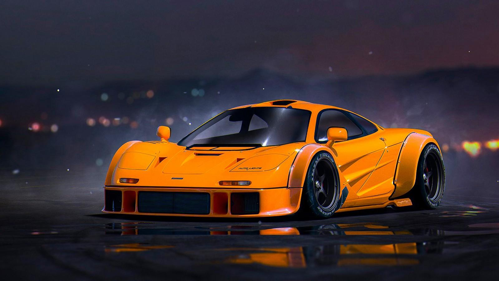 Mclaren Cars Wallpaper Hd: Mclaren F1 Wallpaper