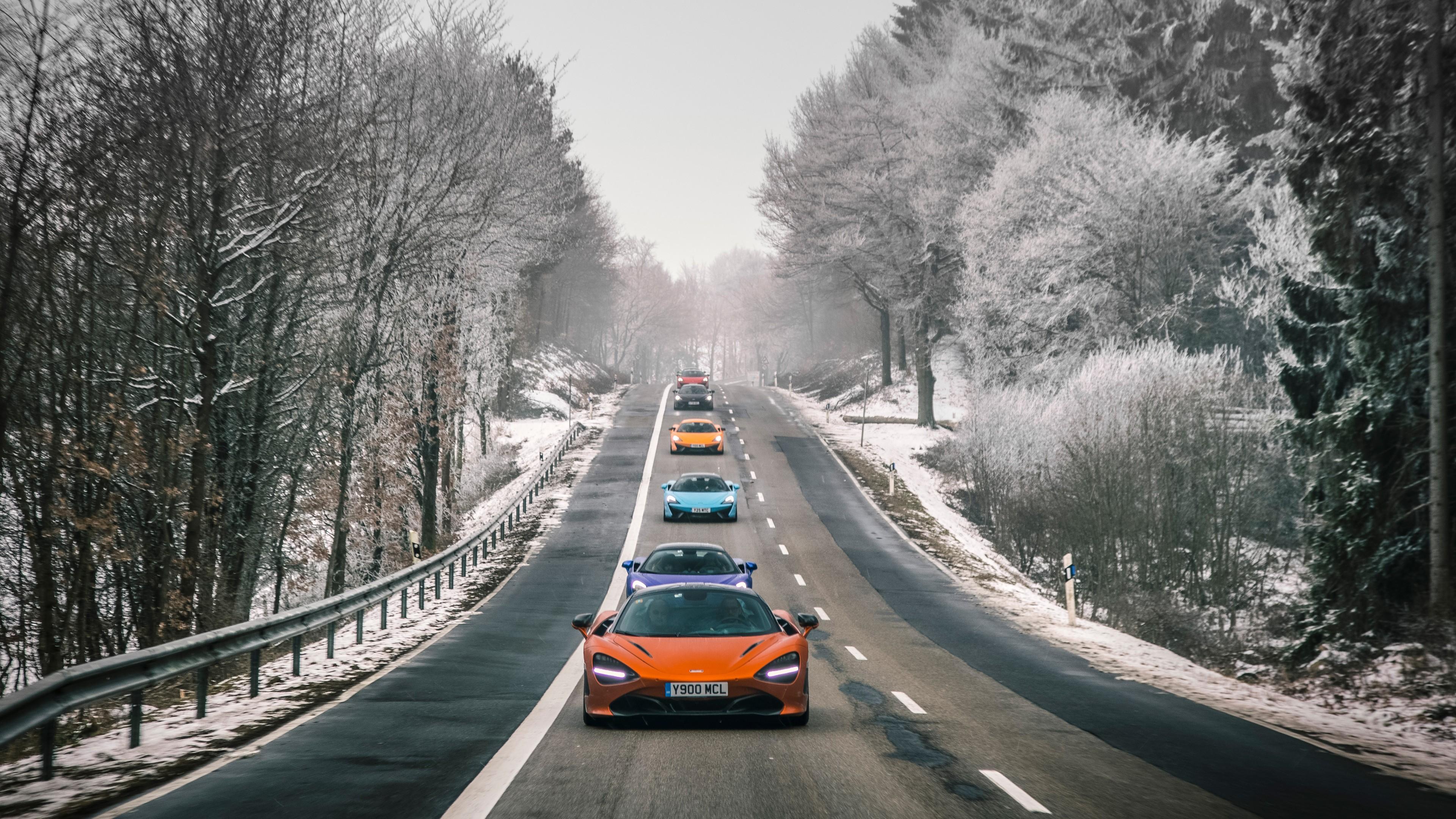 McLaren fleet in Switzerland 5K Wallpaper | HD Car ...
